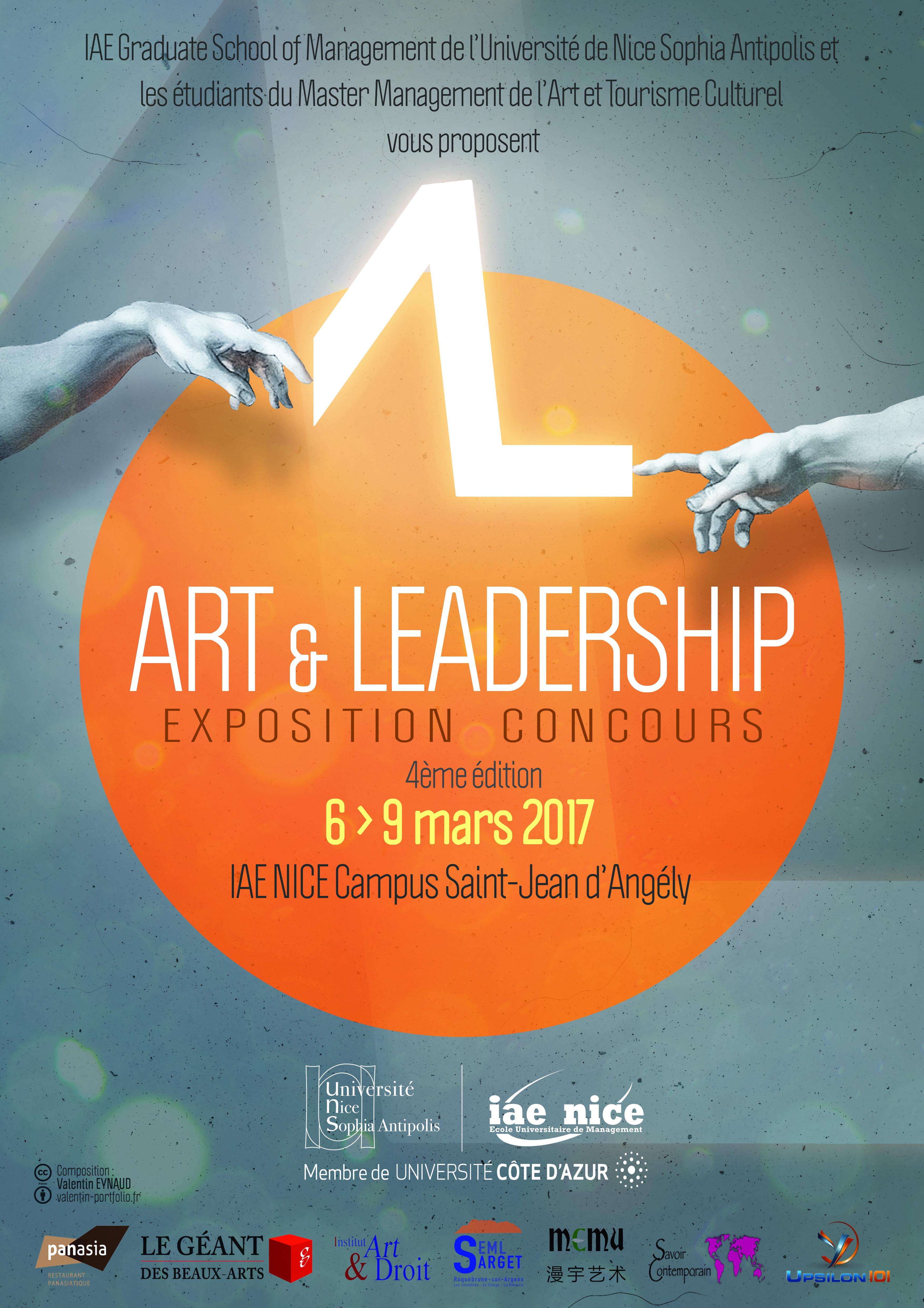 art_et_leadership_affiche_avec_logos
