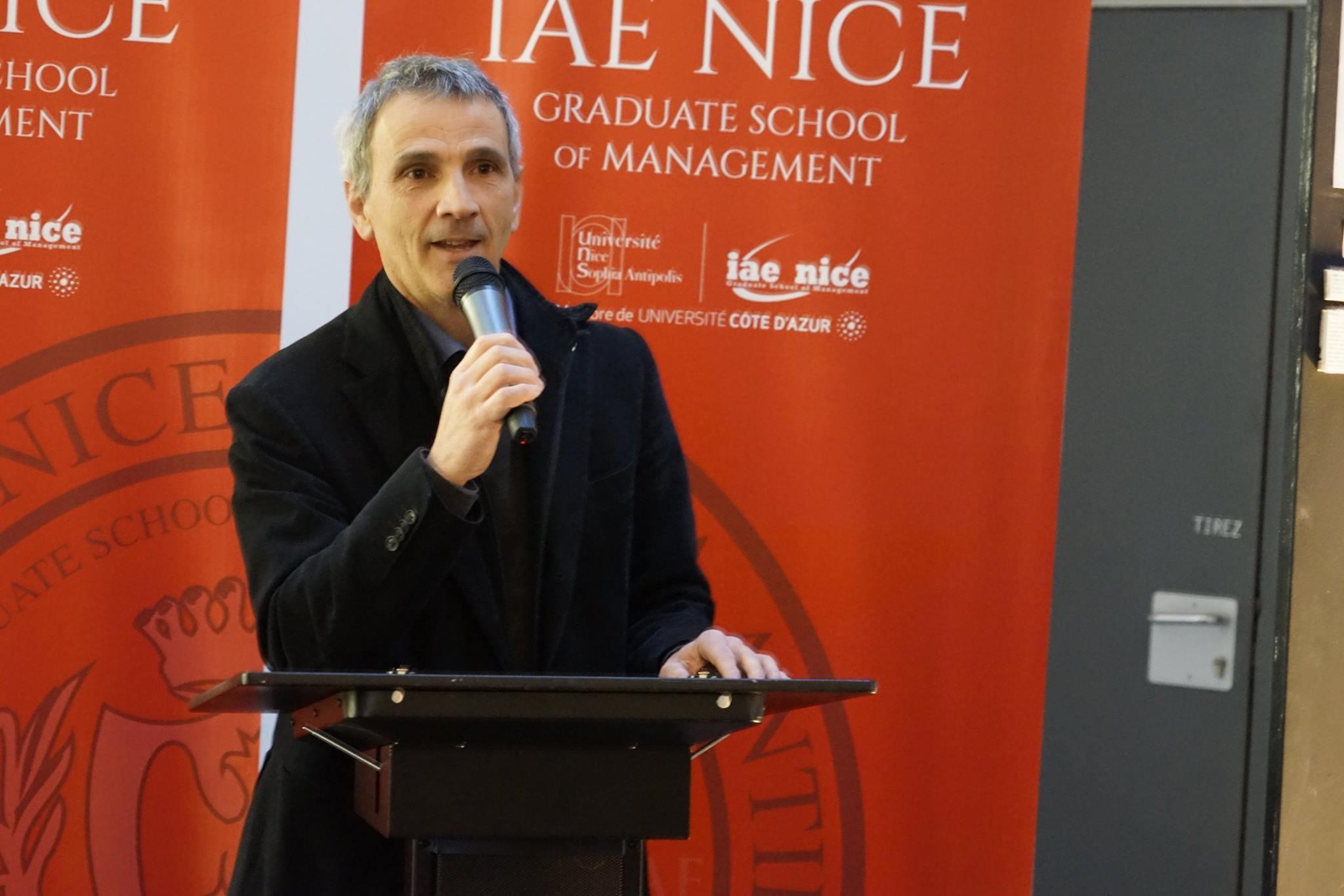 Directeur du Master MATC, Jean-Baptiste Pisano