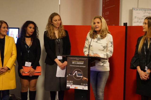 """L'artiste SAB, Présidente du Jury de la 5ème édition """"Art & Leadership"""""""