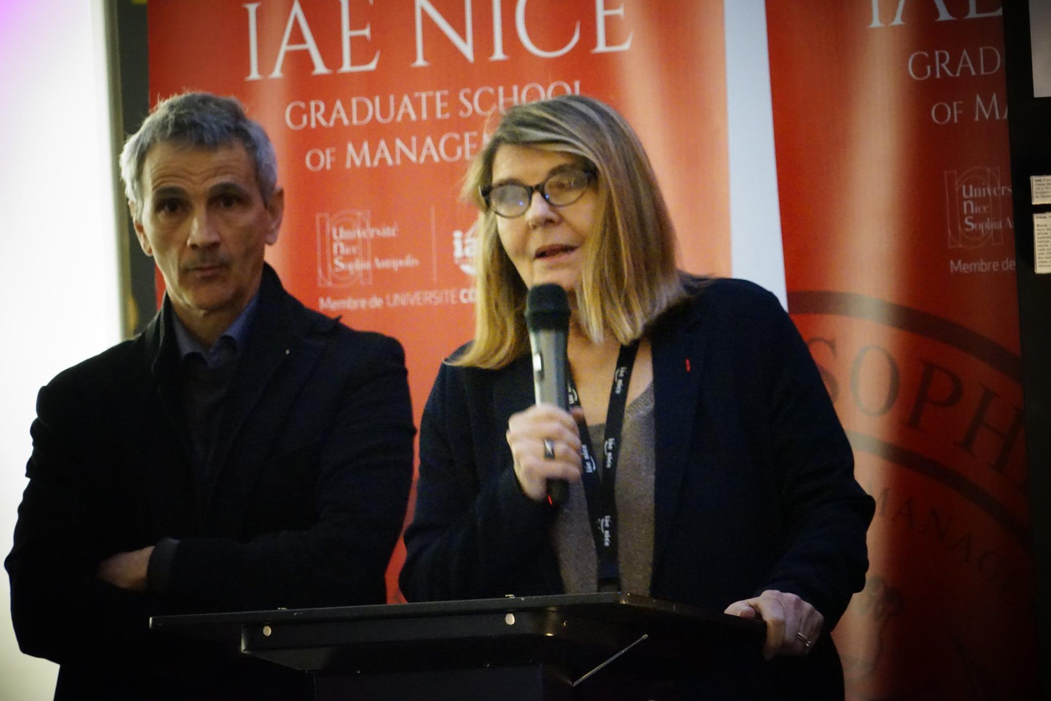 Directrice de l'IAE, Nadine Tournois